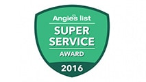angie's list super service award 2016 badge